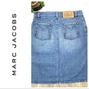 Marc by Marc Jacobs jean skirt size 2